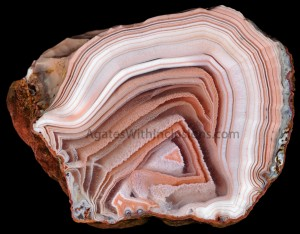 VICTORIA Banded Agate, 5 cm