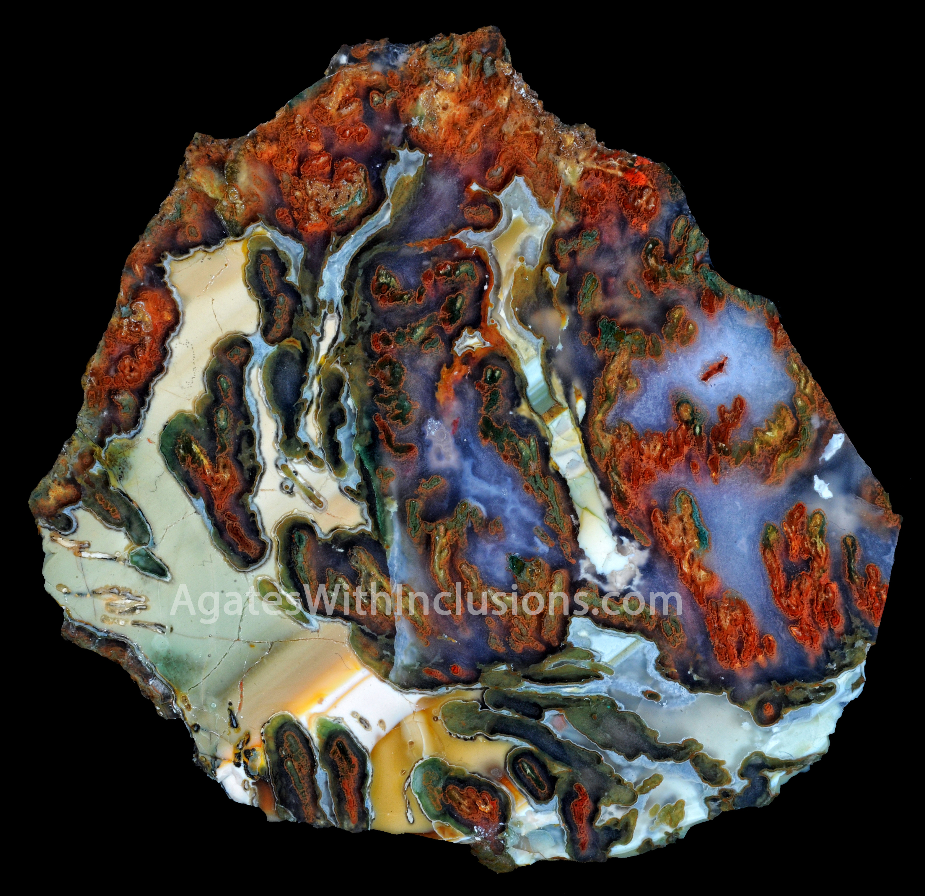 Nevada – Agates With Inclusions