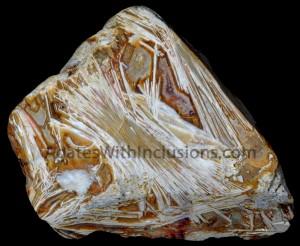 KIESGRUBE (GRAVEL (PIT) Sagenite, 7 cm